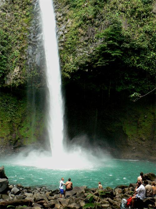 La cascada de Arenal