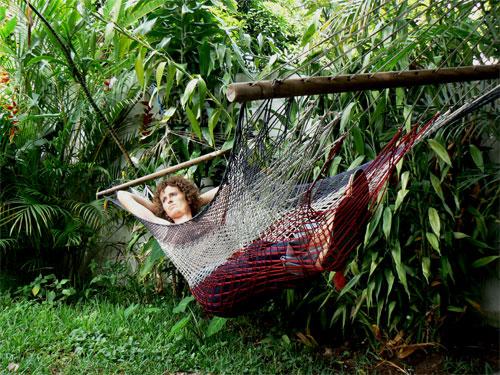 Hamacas en el Costa Rica Backpackers