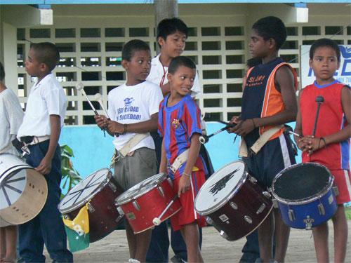 La tamborrada en Bocas