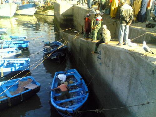 Pescadores de Essaouira