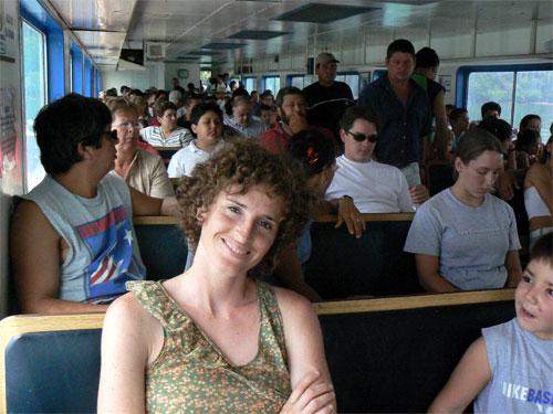 En el Ferry