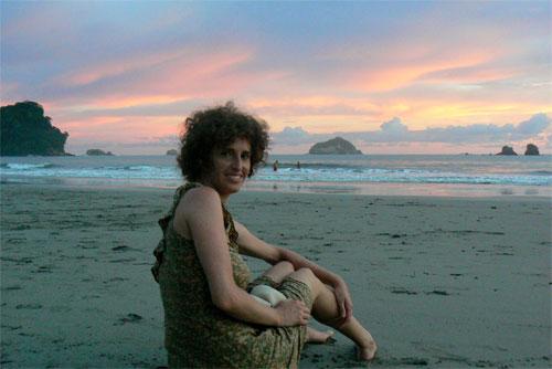 Ixone en la playa de Manuel Antonio