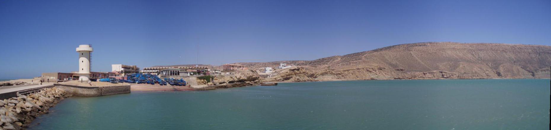 Panoramica del puerto de Imsouane
