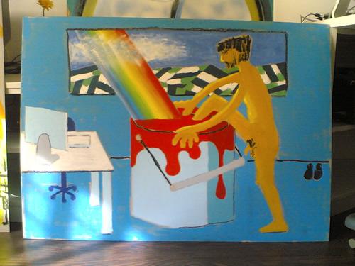 Volver a la pintura de David Yerga, ese gran artista