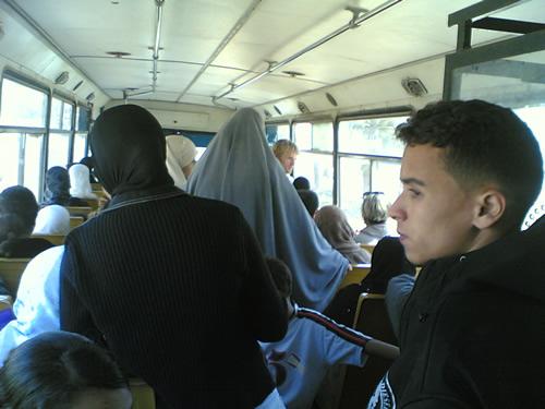 En el bus a Agadir