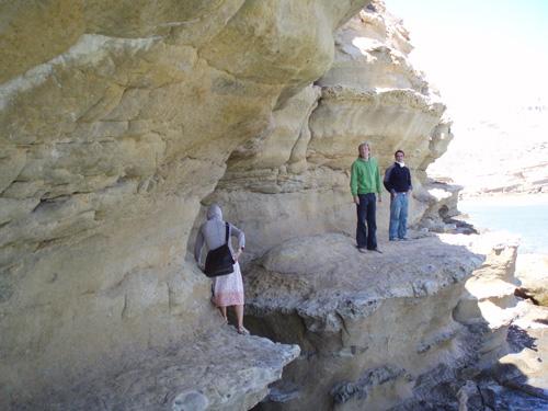 Paseo por las rocas