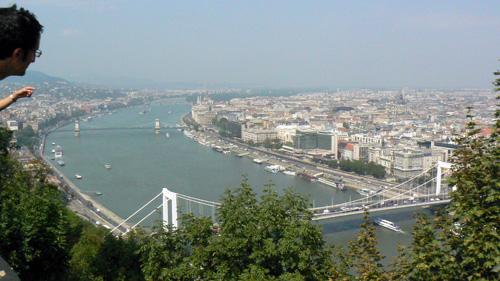 Budapeste desde la Citadella
