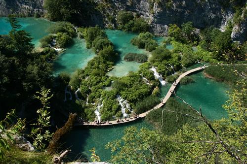 Parque Nacional de los lagos de Plitvicka, Zagreb